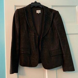 Armani Collezioni leather blazer, women's size 8